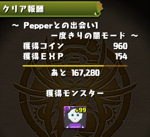 Pepperダンジョンの内容04