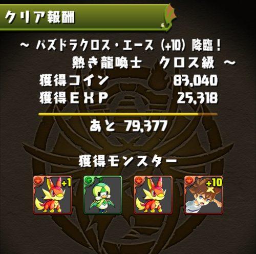 パズドラクロス・エース(+10)降臨!の内容04