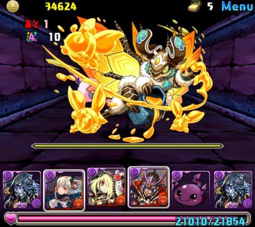 闇の護神龍【7×6マス】攻略05
