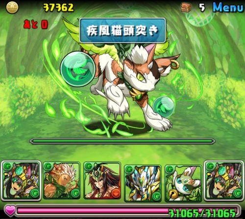 木の猫龍【火なし】攻略05