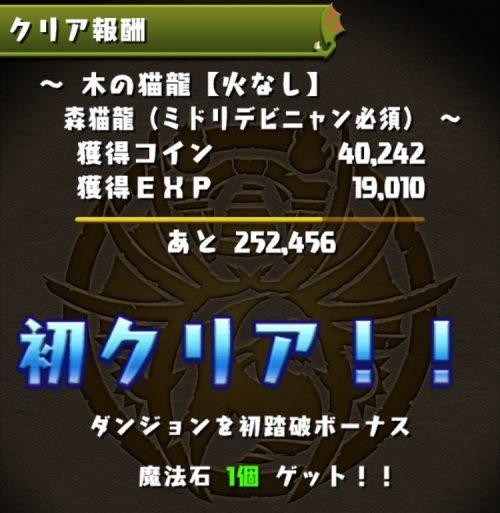 木の猫龍【火なし】攻略08