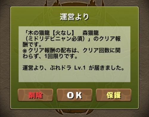 木の猫龍【火なし】攻略09