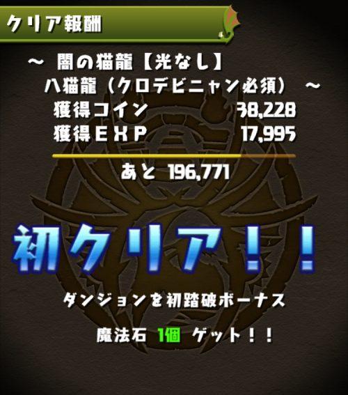 闇の猫龍【光なし】攻略08