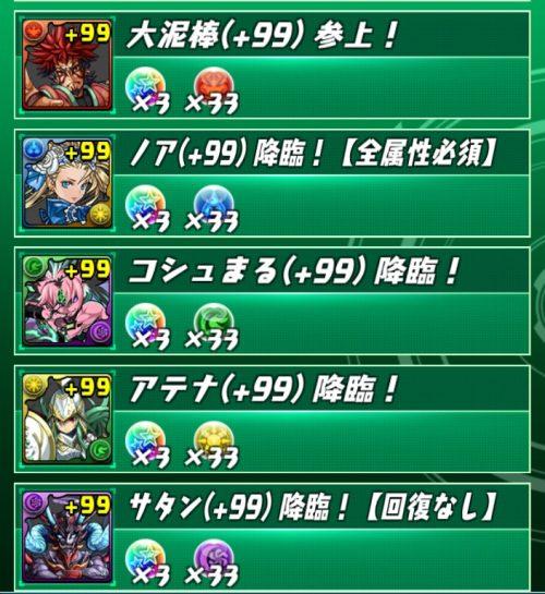 各(+99)ダンジョン