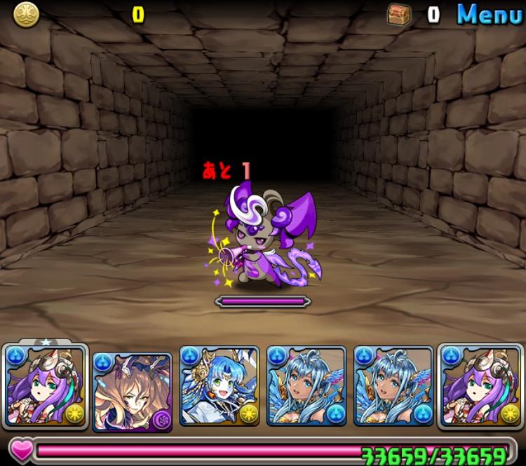 「闘技場タイムアタック対決」投票イベントダンジョン攻略01