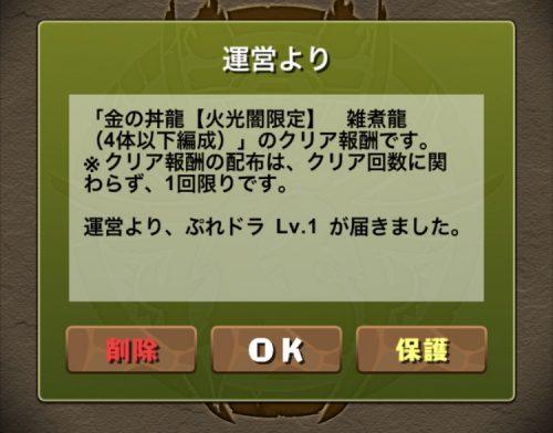 金の丼龍【火光闇限定】攻略08