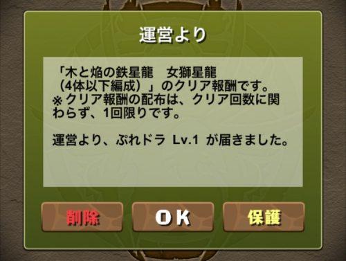 木と焔の鉄星龍【木属性強化】攻略08